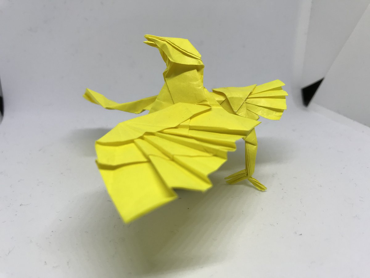 Little Bird Designed By Satoshi Kamiya : origami | 900x1200