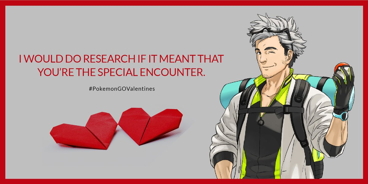 Have a perfect Pokémon GO related poem for Valentine's Day that our community will love? Share it with us in the comments below! Who knows—we might just feature it during our upcoming #PokemonGOValentines event. 😉