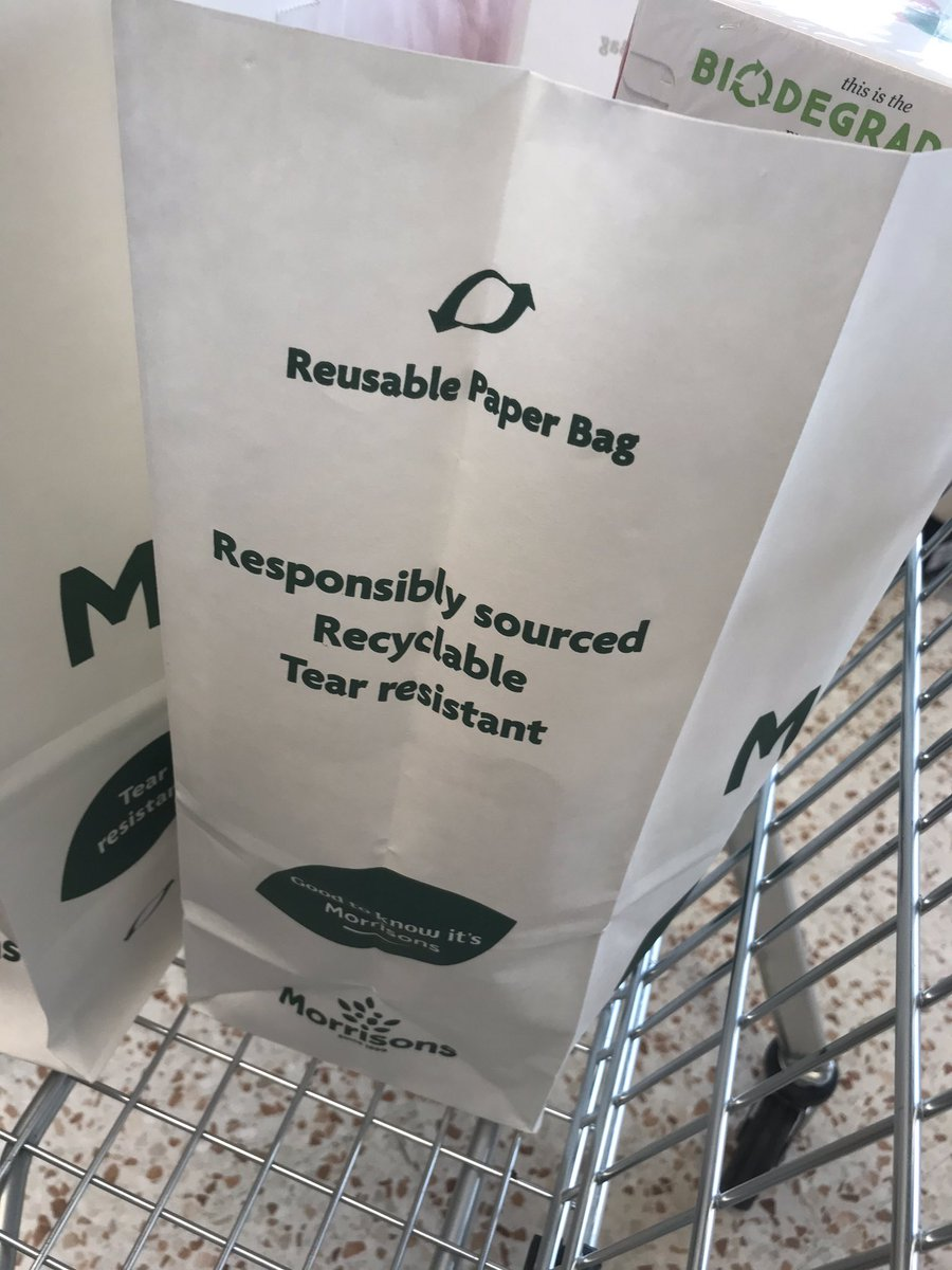 Very impressed with this @Morrisons! ♻️🌎