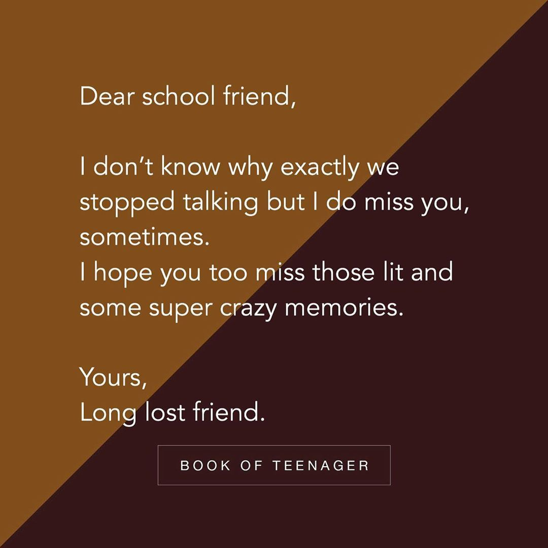 """Friendship Quotes :  Story Book Of Teenagers  on Instagram: """"""""Do you miss someone? """" Follow @bookofteenager  - Via @effectivewords  - - - #writing #bookofteenager #amreading #quotes #writer…"""" -  https://quotesstory.com/good-quotes/friendship-quotes/friendship-quotes-story-book-of-teenagers-%f0%9f%92%95-on-instagram-do-you-miss-someone-%f0%9f%98%94-follow-bookofteenager-%f0%9f%92%95-via-effectivewords/…pic.twitter.com/ha0Gd6gYVI"""