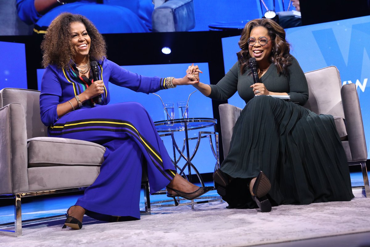 I had so much fun with @Oprah and all of the people who came out for #Oprahs2020VisionTour. Thank you for sharing what wellness means to you—here's to making 2020 our healthiest year yet.