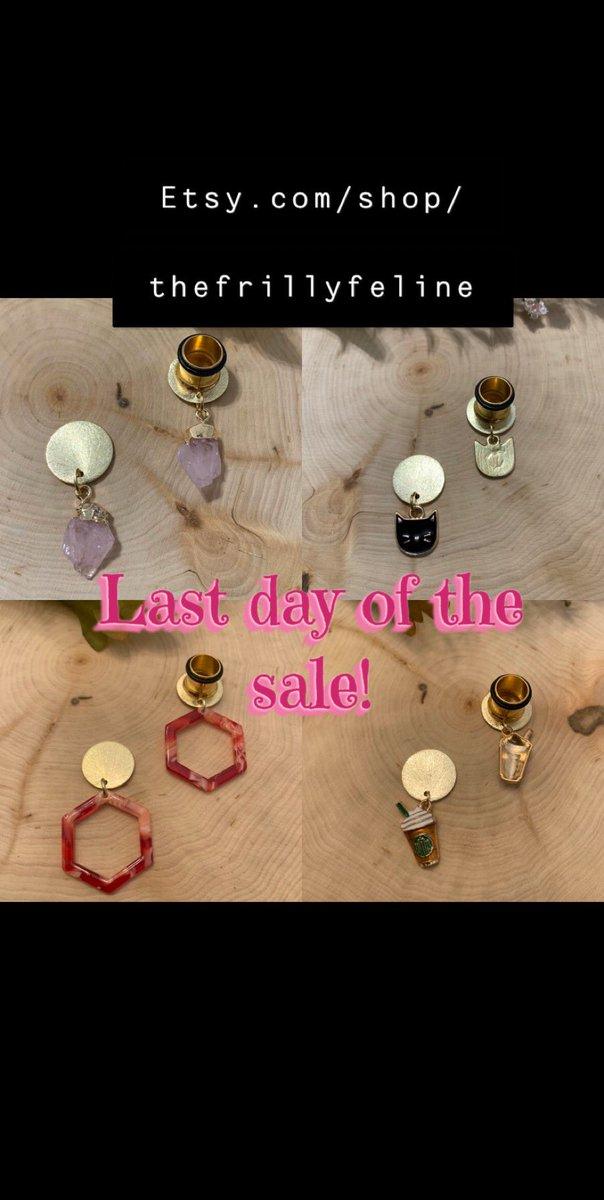 http://Etsy.com/shop/thefrillyfeline… #gauges #eargauges #gauge #gaugedears #girlswithgauges #earpiercings #earpiercing #earrings #plugs #plugearrings #dangleplugs #stretchedears #alternative #alternativegirls #piercings #girlswithpiercings #girlswithtattoos #jewelrypic.twitter.com/pwnDPuVy2l