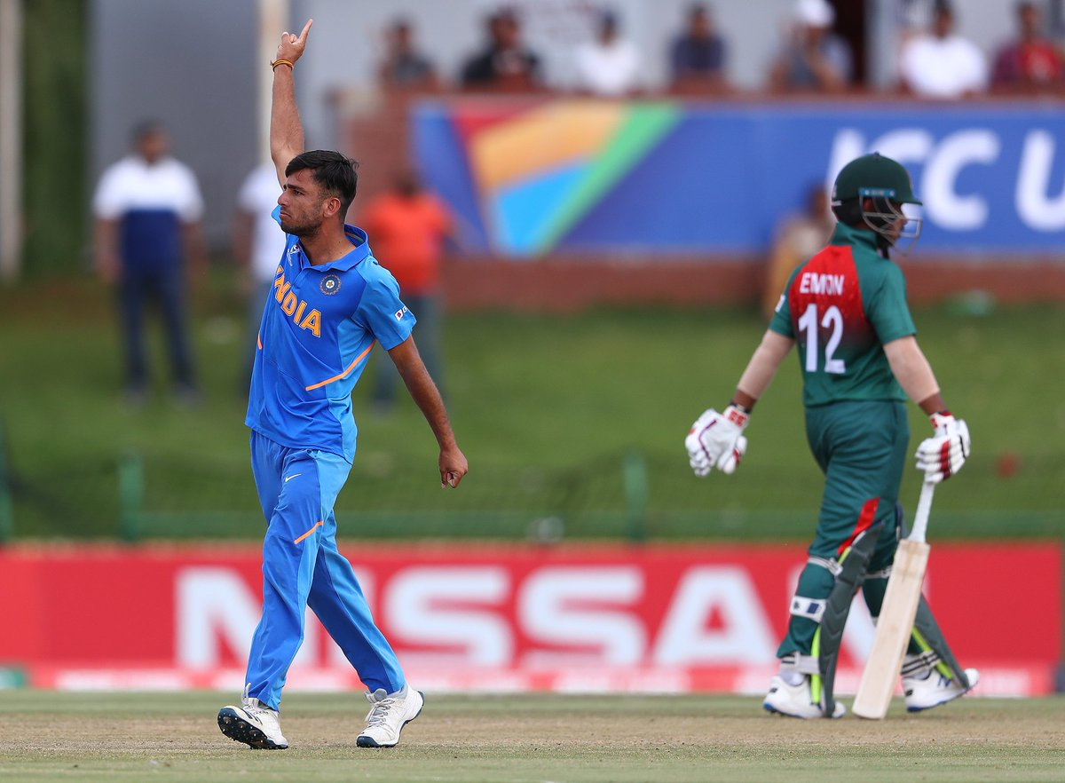 ✅17 wickets in 6 matches ✅4 wickets in the finals ✅Highest wicket taker of the tournament Congrats googly master Ravi Bishnoi. 👌🙌👏 #INDvBAN #U19CWCFinal
