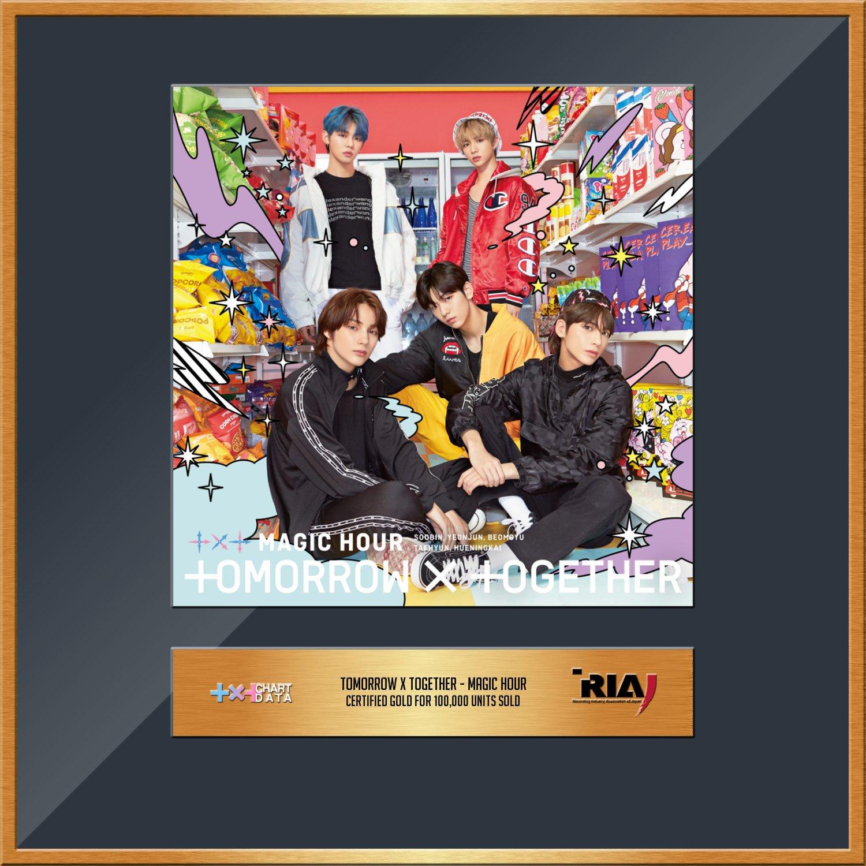 TXT Cetak Rekor Baru dari RIAJ Setelah Album MAGIC HOUR Terjual 100 Ribu Unit di Jepang