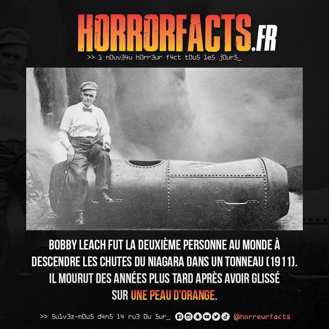 Comme quoi, les peaux d'orange sont plus dangereuses que les chutes du Niagara ! #niagara #chutesduniagara #tonneau #exploit #record #bobbyleach #1911 #orange #peaudorange #pasdebol #lesaviezvous #horreur #horreurs #horreurfact #horreurfacts #horrorfact #horrorfacts #filmdhorreur pic.twitter.com/JwWyWpaHte