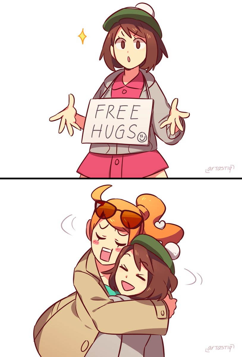 Free hugs! ╰(*´︶`*)╯##PokemonSwordandShield