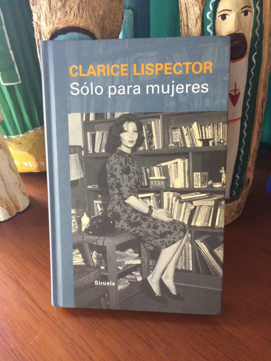 #claricelispector #sóloparamujeres #literatura #libreria #librodosponible #ventadelibros pic.twitter.com/EkTPuPvgsM