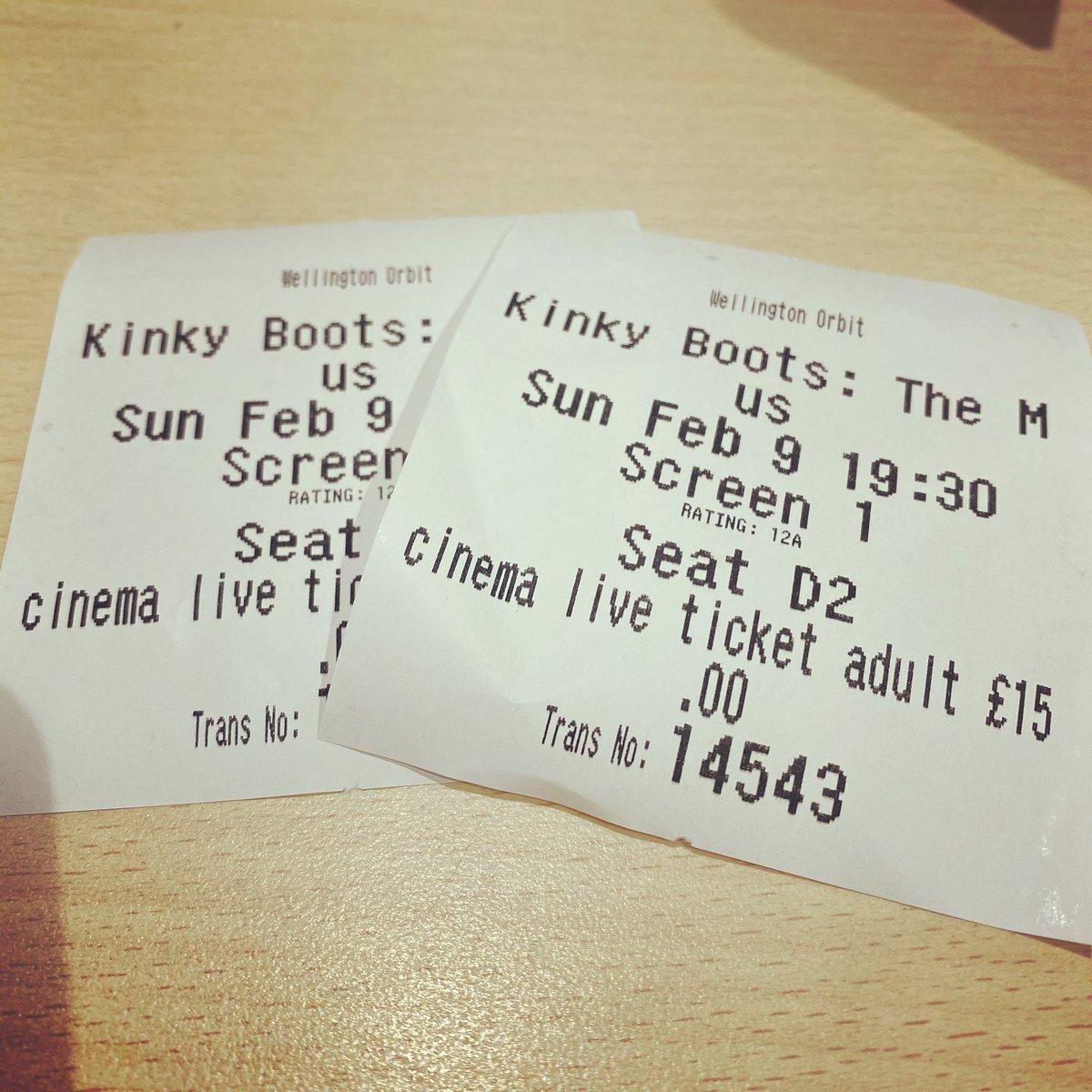 Kinky Boots with my girl   .  #star #actors #actor #shakespeare #movies #moviestar #cinema #actorslife #actress #instamovies #musical #goodmovie #stage #westend #teatro #flick #videos #flicks #broadway #instaflick #theater #instaflicks #actingpic.twitter.com/G05Uk3mKro