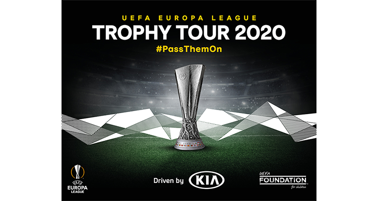 [#HMG] #Kia and #UEFA have announced that the UEFA Europa League Trophy Tour campaign will return for 2020 #PassThemOn #UELTrophyTour #Football ▶ http://bit.ly/2vnFLFJ