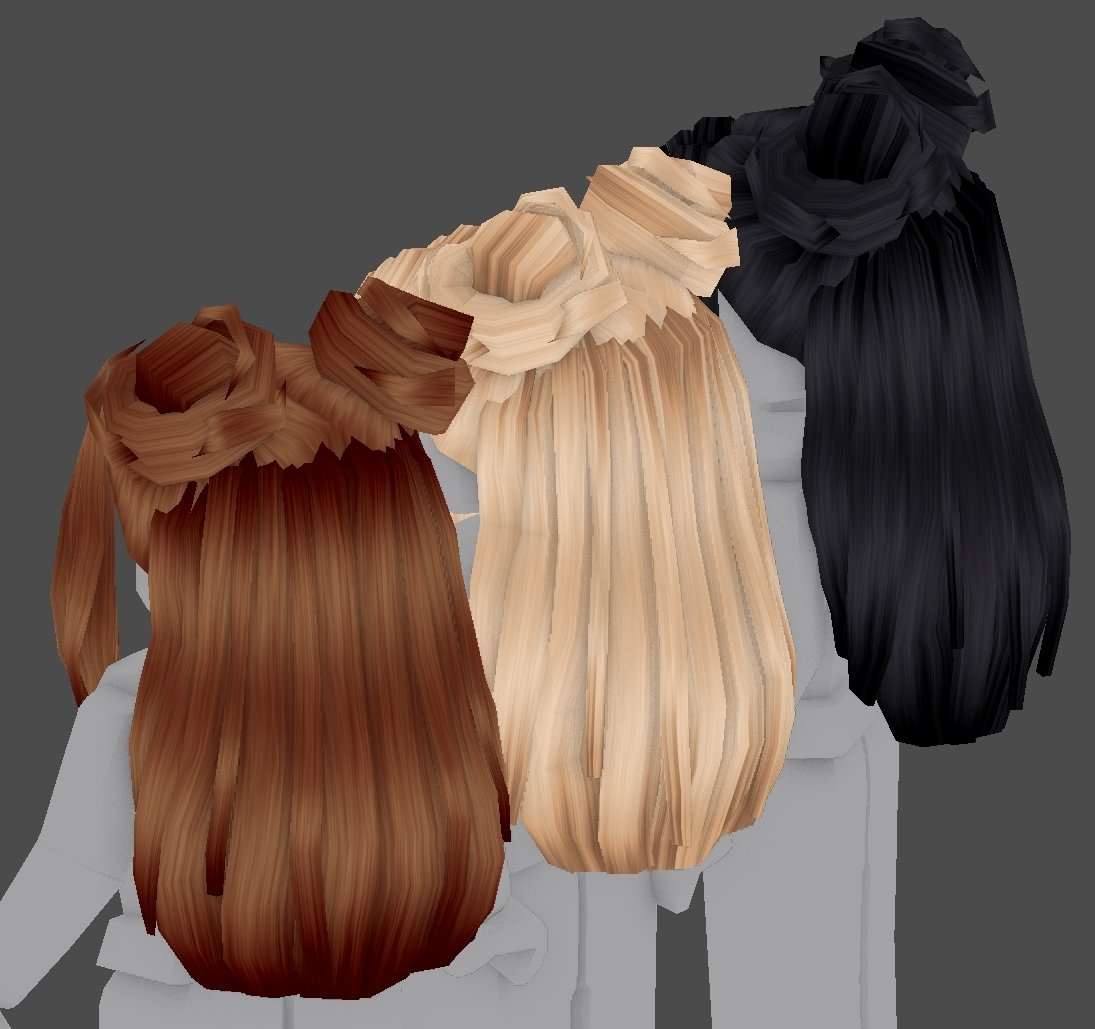Cute Roblox Hair Codes Erythia On Twitter Doot Doot New Hairstyle Fluffy Hair Paired With Cute Bangs Space Buns Thinking About Texturing Another Moon Staff This Week Maybe Iceeeee O Roblox Robloxugc Https T Co Ihtbzsjlyf