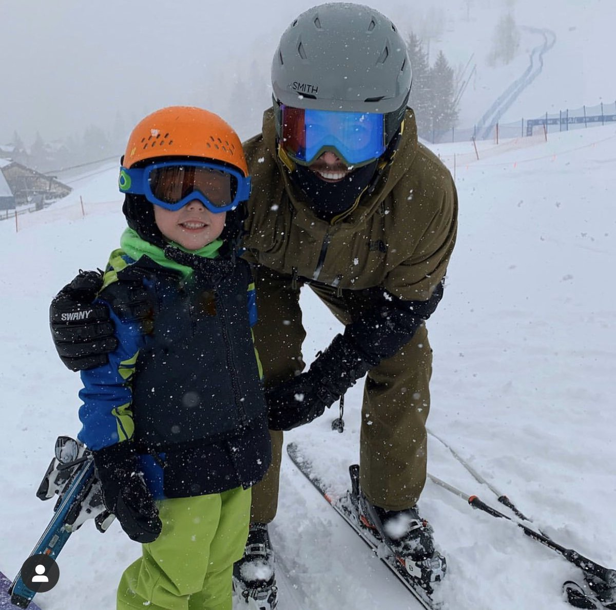 My lil' ski bums... 🥰😘😍