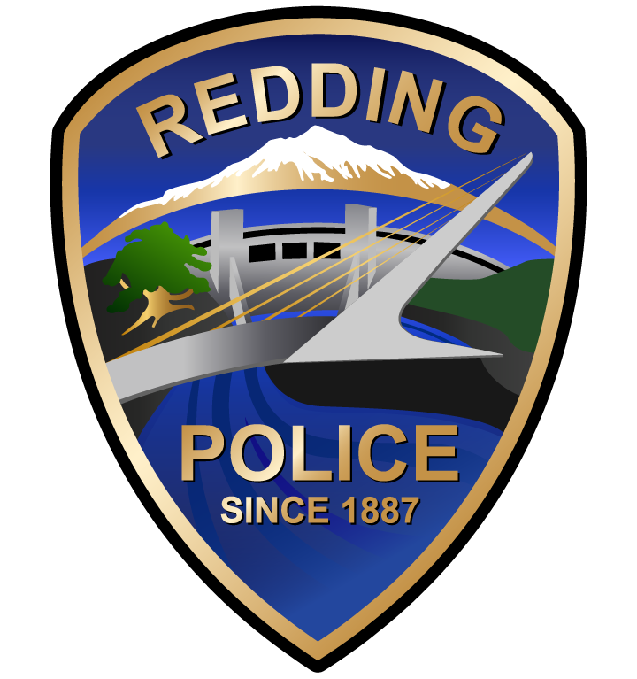 Redding Police Department logo