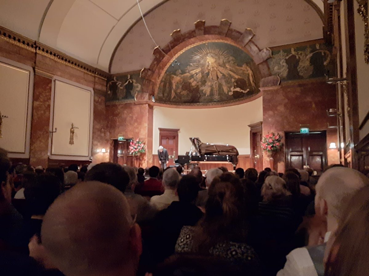 A wonderful end of the #weekend with Richard Goode at @wigmore_hall #classicalmusic