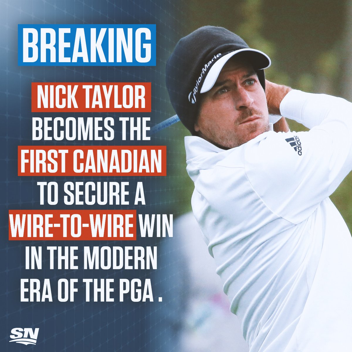 BREAKING: Nick Taylor wins the AT&T Pebble Beach Pro-Am, becoming the first Canadian to secure a wire-to-wire win in the modern @PGATOUR era. 👏🇨🇦 DETAILS: sportsnet.ca/golf/canadas-n…