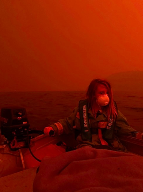 All of our kids/grandkids/nieces/nephews will one day find themselves in one metaphorical boat or another soon enough. It will be up to their mothers and fathers to explain why everything's burning. It will be good to have an answer prepared, if nothing else /7END