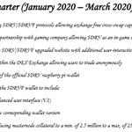 Image for the Tweet beginning: PRIMARY #DRAVITE MILESTONES FOR QUARTER