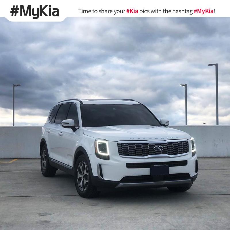 On cloud nine. #MyKia #Telluride <Photo courtesy of Instagram user @ arkayfresh>