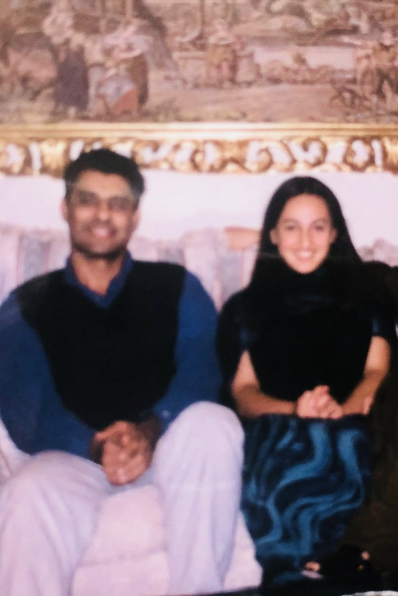 Grateful for these last 20 years together. May you always remain by my side even when we are old! @waqyounis99 #HappyWeddingAnniversary #Throwback #love #friendship