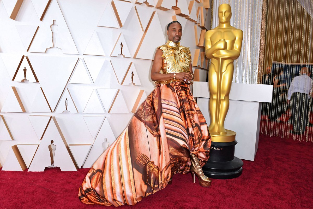 When in doubt or assurance, #Pose or #Vogue, either way, #BillyPorter is still super #badass. #Oscar2020 https://t.co/6PCjEZ5b5A