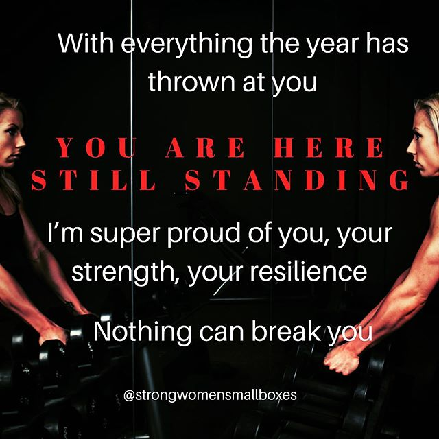 Reposting @strongwomensmallboxes: Hey ladies,  I know I know.... it's been a year with a blend of good and bad  IT'S BEEN TOUGH BUT YOU HAVE BEEN TOUGHER Cheers to you, You are a strong woman  Be proud of yourself!!!! #strongwoman #strongwomen #endof2019 #womenwithgoals pic.twitter.com/xjpLlBrOJG