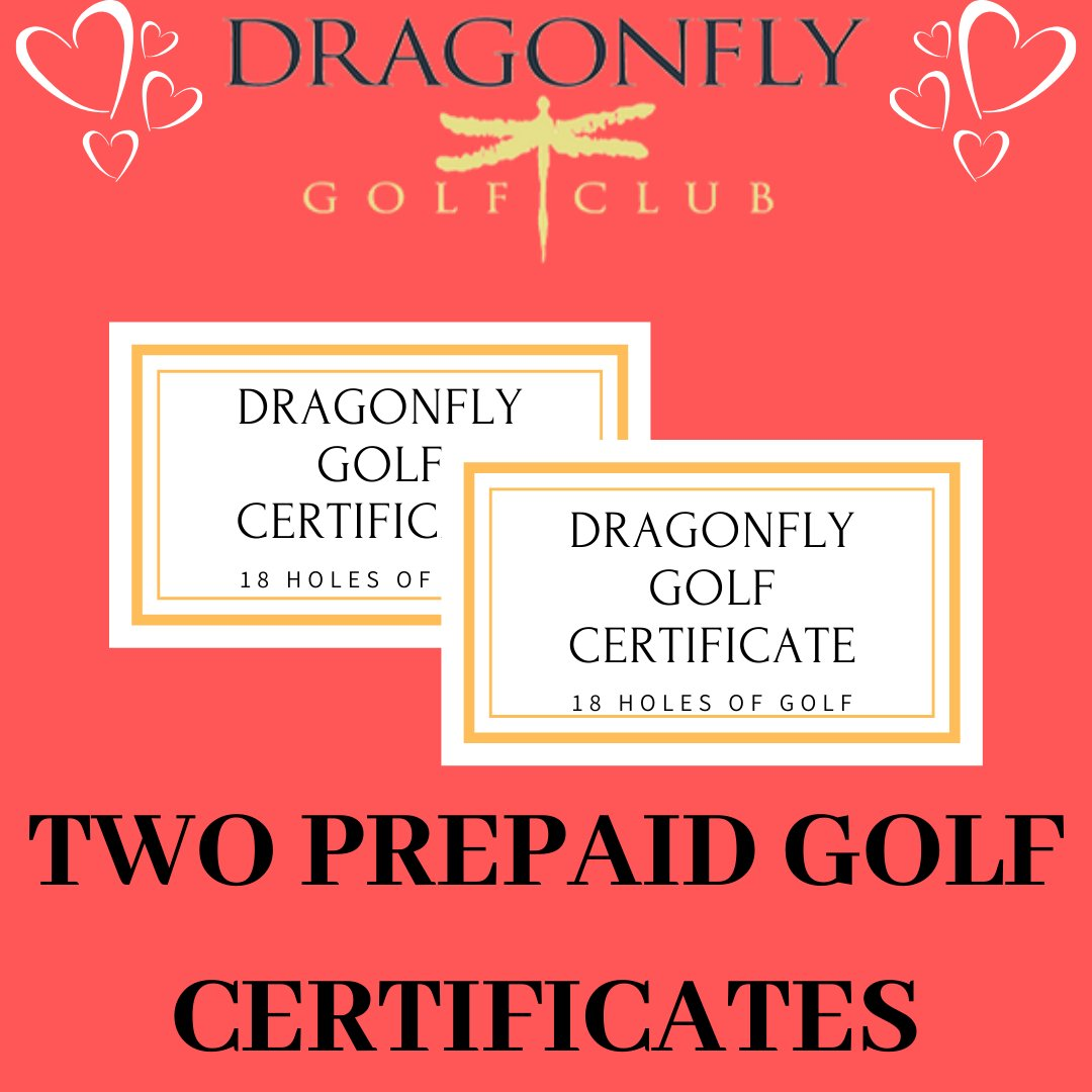 Looking for the perfect gift for that special golfer in your life? How about two 18-hole rounds of golf! Stop by our online store today to claim yours for only $125.   #californiagolf #valentinesdaypic.twitter.com/kyZfjIhsAf