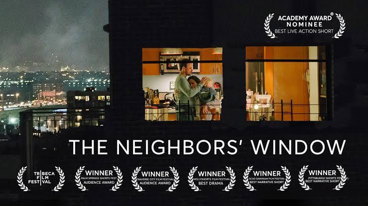 O curta metragem de The Neighbors' Windows acaba de ganhar o Oscar.  #theneighborswindows #curtametragem #oscar #Oscar2020pic.twitter.com/tvqhS0Sg4V