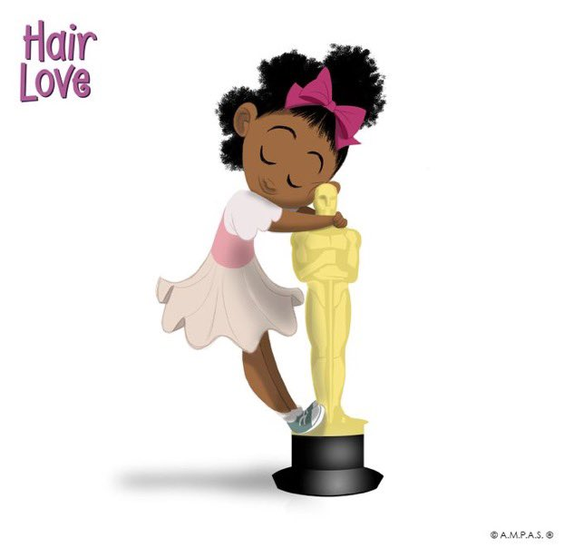 """It just takes a little bit of work and a whole lot of love."" #HairLove win Best Animated Short #BlackHistory #Oscar2020 https://t.co/Ib2ZFcUcCS"