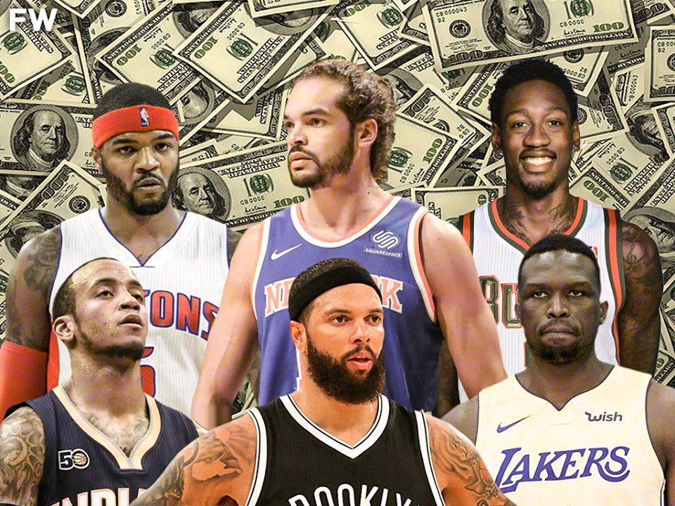 NBA Players That Are Still Getting Paid Despite Being Out Of The League fadeawayworld.net/2020/02/08/nba…