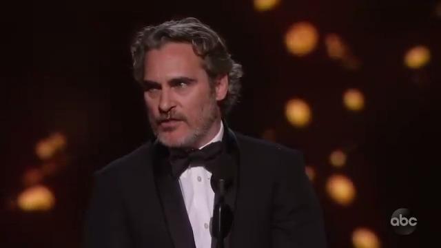 RT @TheAcademy: #Oscars Moment: Joaquin Phoenix wins Best Actor for his work in @jokermovie. https://t.co/M8ryZGKGHV