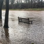 Image for the Tweet beginning: The Annan River was very