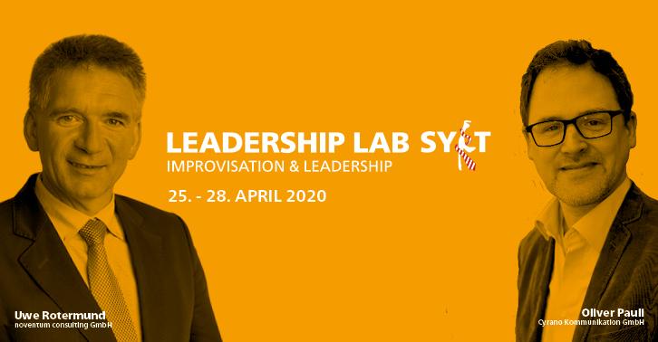 Das langjährige Veranstalter-Dreamteam aus Uwe Rotermund und Oliver Pauli freut sich auf das Leadership Lab Sylt 2020. Mit ihrer Expertise aus Culture Change Management und Improvisationstheater machen sie unser Event besonders. Jetzt Tickets sichern: https://www.sylter-tage.de/anmeldung.htmlpic.twitter.com/0QohP94dHW