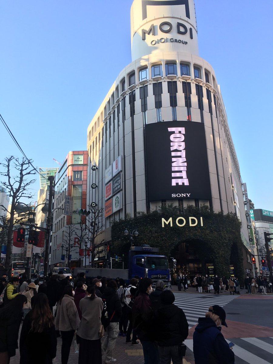 フォートナイト 渋谷 マップ