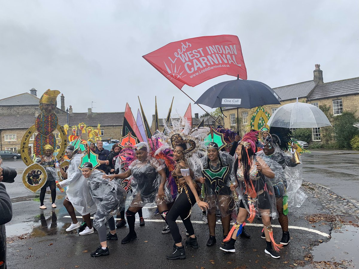 #Monday #morning #memory takes us back to @VisitMasham for the #yorkshire2019 🚲 #LeedsCarnival will always brighten up your #stormy day with #soca, #costumes and #carnival #vibes 💃🏽  #clouds ☁️ #rain ☔️ #photography 📸 #weather  #lightning #love #art #winter #wind #yorkshire
