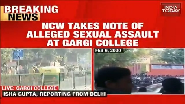 NCW takes note of alleged sexual assault at Gargi College, protest inside campus today. @Isha_Gupta409 gets the latest on this.#IndiasAgendaMore Videos: https://indiatoday.in/videos