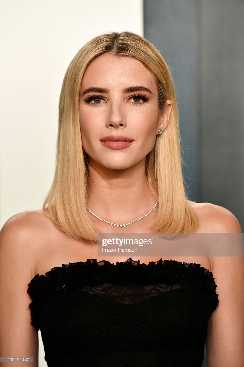 The Ahs Zone On Twitter Emma Roberts Attends The 2020 Vanity Fair Oscar Party Oscars