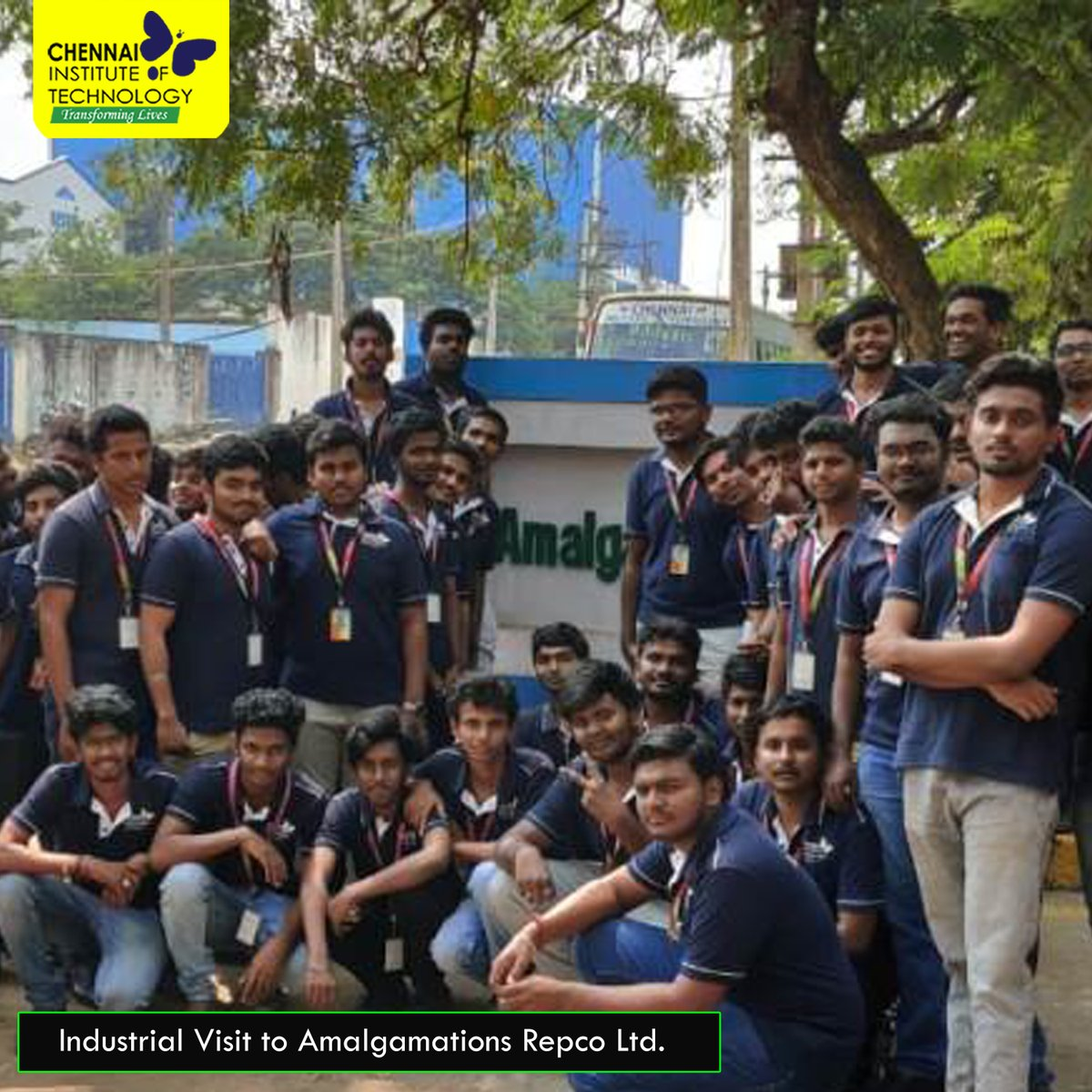 Industrial Visit to Amalgamations Repco Ltd. organised for Third Year Students by Department of Mechanical Engineering  #IndustryConnectedInstitute #IndustrialVisit #ChennaiInstituteofTechnology #CITChennai #TransformingLives #Engineering #enjoyableCampusLife #HappyCampuspic.twitter.com/VhY2nn9e1x