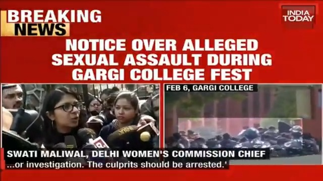 DCW to issue notice to cops over alleged sexual assault during the fest at Gargi college. @Isha_Gupta409 has more details.#ITVideo More Videos: https://indiatoday.in/videos