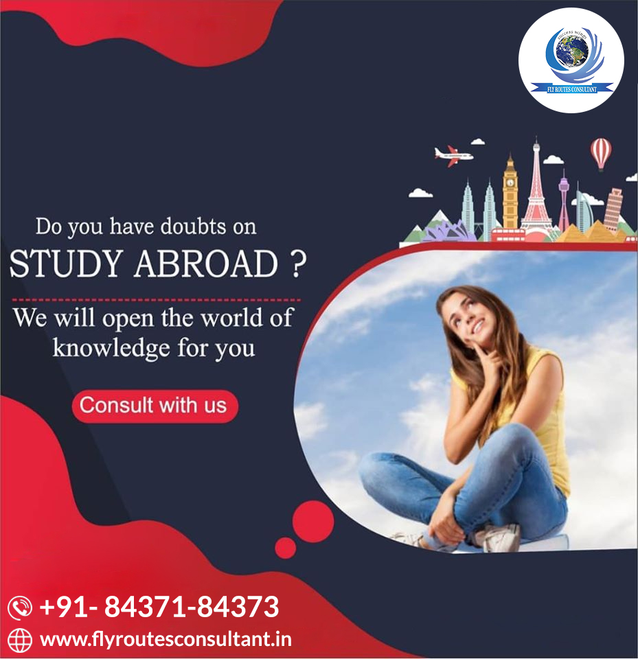 Are you looking for a study in Abroad, but you have some doubts about Abroad Study? so, we will open the world of education for you Apply for your Study abroad visa with us! For more details: +91-8437184373  #StudyVisa #AbroadStudy #StudyinAbroad #FlyRoutespic.twitter.com/J5tlE2m6Kp