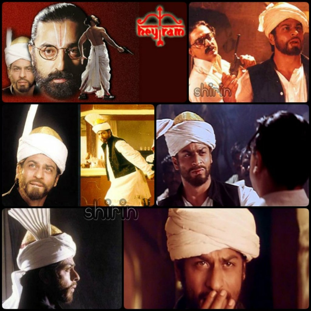 .@iamsrk Hey Ram  #ShahRukhKhan has such a strong presence in the movie as Amjad A Khan.   The film was selected by India as its submission to the Oscars.  ( 18 Feb 2000 )  #KamalHaasan #20YearsOfHeyRam