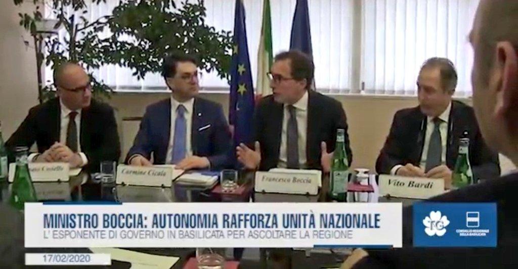 """Il ministro Boccia: """"Autonomia rafforza Unitá naz..."""