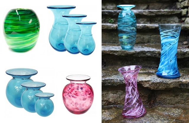 🌹 Treat yourself to a beautiful vase ready for those early blooming flowers before the coming frost ❄️   #flowers #vases #gifts #valentines #artglass