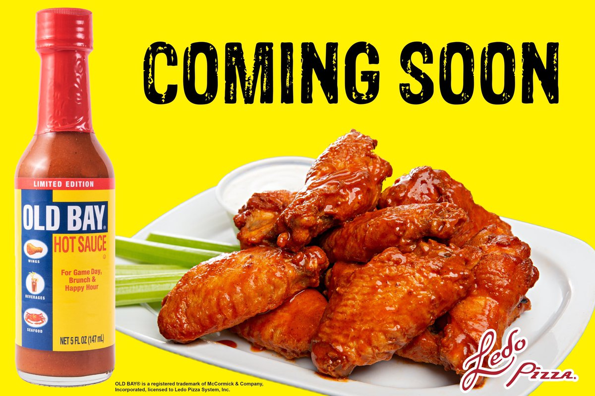 Things are about to HEAT UP  Iconic Flavor Gets Hotter  2.25.2020 at #LedoPizza <br>http://pic.twitter.com/EAuNLSdaVh