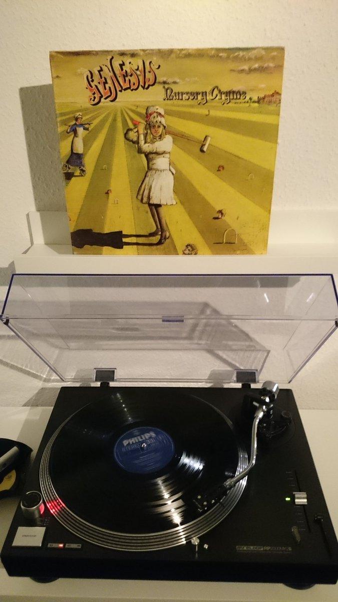 1971 German release in VG.  a progressive rock masterpiece but hey, it's Genesis!    #vinyl #nowspinning #Genesis #vinylcollection #vinylrecords #progrock