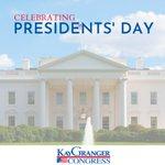 Image for the Tweet beginning: Happy #PresidentsDay! I am proud