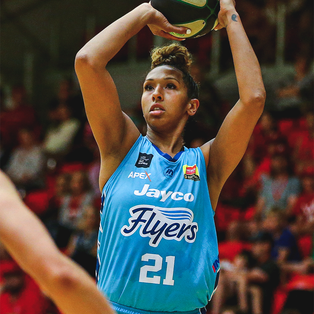 Congratulations to @MerSladezz on being named @WNBL Defensive Player of the Year!! 🔒  And Congratulations to  @EziMagbegor on being named Betty Watson Australian Youth Player of the Year!! 🔥  #StormOverSEAs #WNBL20