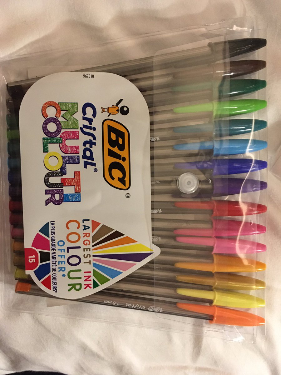 Stationery friends These are 1.6mm and have some colours not in other packs £4 Wilko