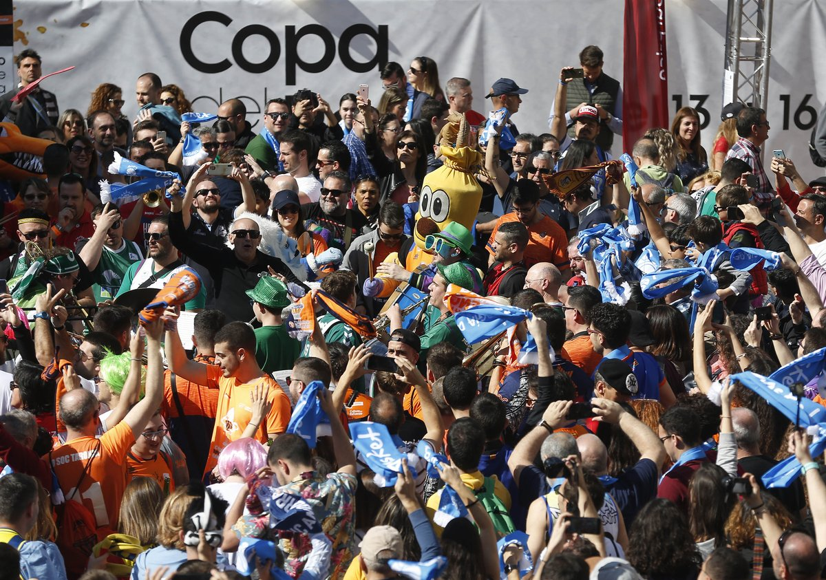 ¡¡¡Que viva la #CopaACB!!!