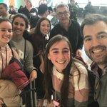 Image for the Tweet beginning: Nuestra primera expedición con alumnos