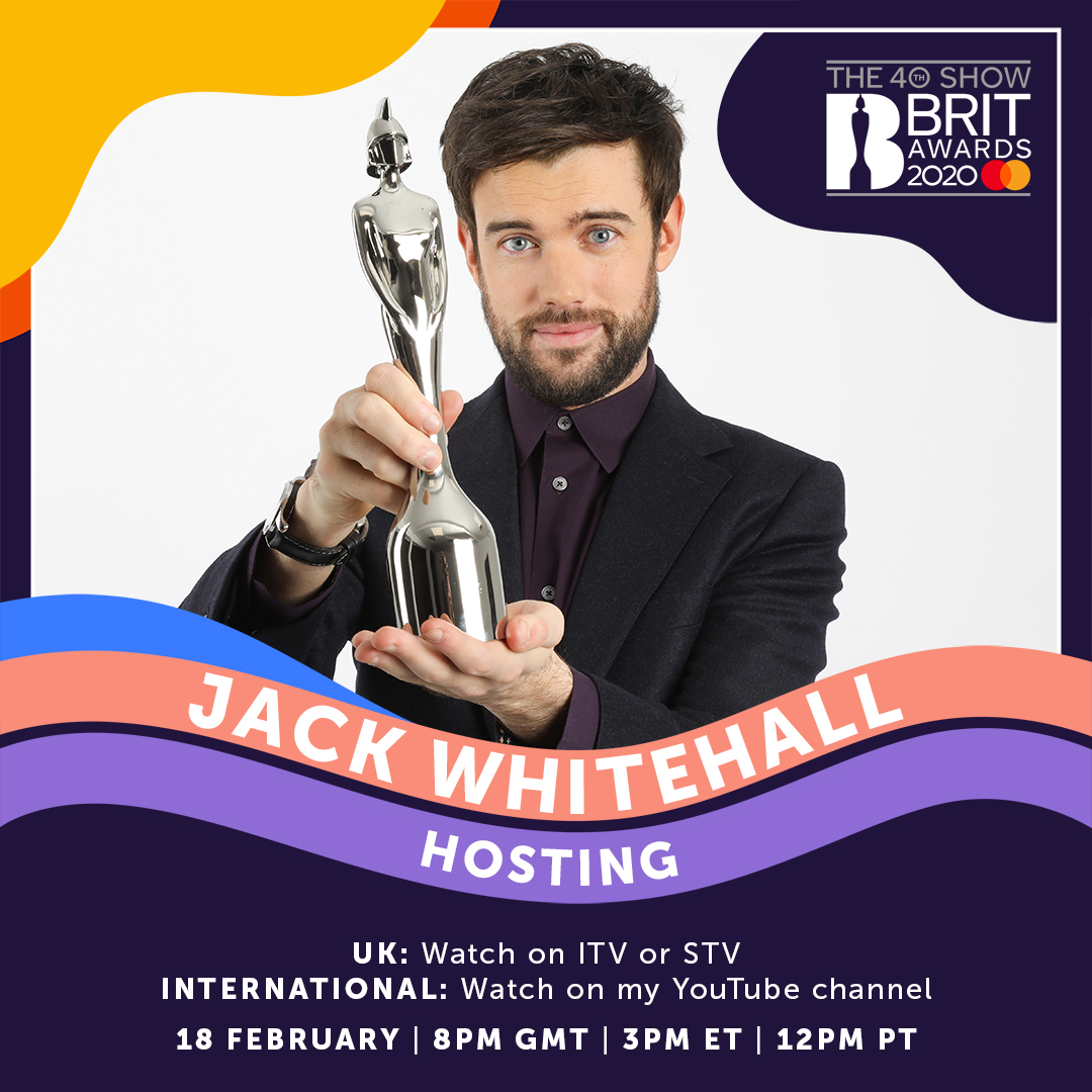 Oh look, it's our host @jackwhitehall! We can't wait to see what he gets up to this year 😅  Watch The BRITs 2020 TONIGHT at 8pm GMT / 3pm ET / 12pm PT:  ⭐️