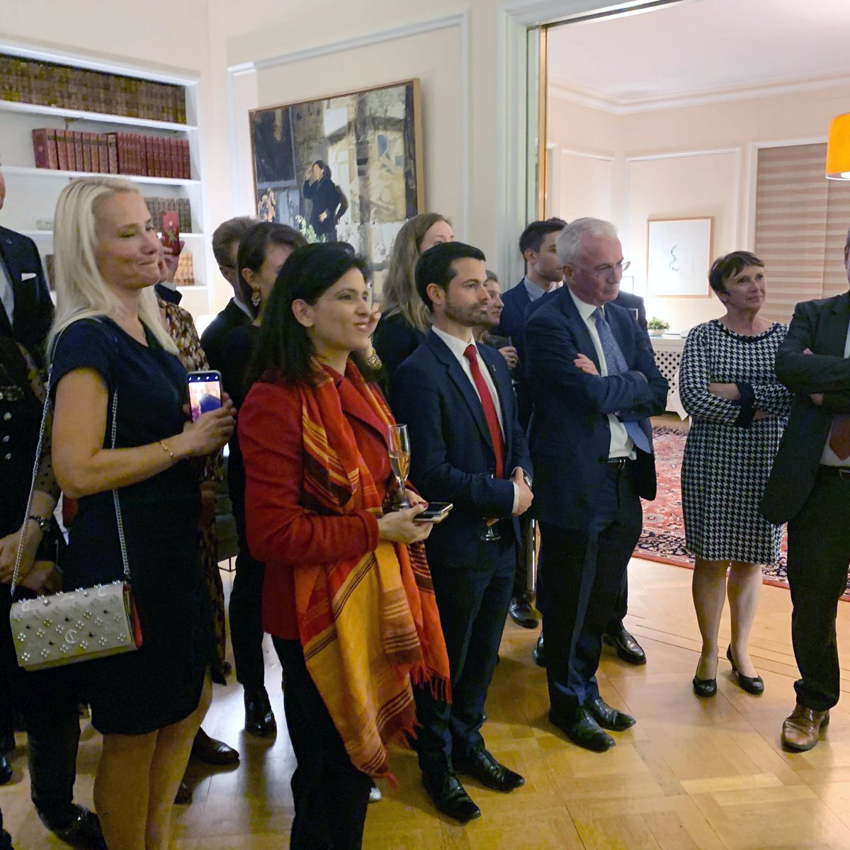 """In an evening organized by @FranceONUGeneve , the global health community bids """"Au revoir"""" to Unitaid ED @LelioMarmora  & celebrates 5 years of service that led to Unitaid's transformation, raised its portfolio, broadened its impact & deepened its partnerships @francediplo"""
